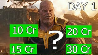 Avengers Infinity War Collection Prediction Day 1 l Audience Poll