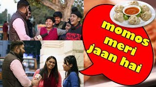 What people think about Momos | Street Interview in India 2018 | Unglibaaz
