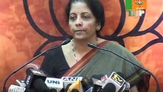 CBI / Sh. Amit Shah : Smt. Nirmala Sitharaman: 31.10.2010