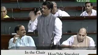 Matters of Urgent Public Importance: Sh. Gopinathrao Munde: 31.08.2010