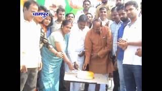 भाजपाइयों  ने मनाया प्रधानमंत्री नरेंद्र मोदी का जन्मदिन