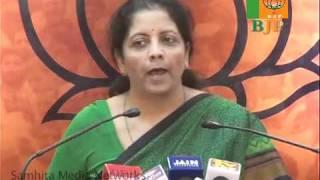All Scams of UPA-2: Smt. Nirmala Sitharaman: 17.11.2010
