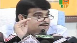 Part 2: Demands Answers from PM on All Scams: Sh. Nitin Gadkari: 18.11.2010