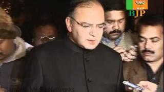 BJP Core Group On Karnataka Issue: Sh. Arun Jaitley: 20.11.2010