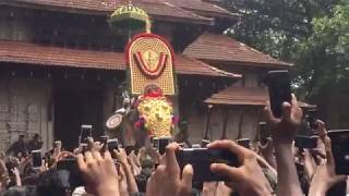 Thechikkottukavu Ramachandran mass entry to thrissur pooram