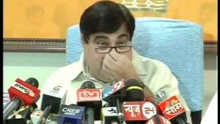 Part 6: Press conference at Mumbai: Sh. Nitin Gadkari