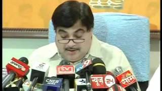 Part 7: Press conference at Mumbai: Sh. Nitin Gadkari