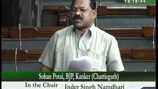 Demands for Grants (Railways) for 2010-11: Sh. Sohan Potai: 19.04.2010
