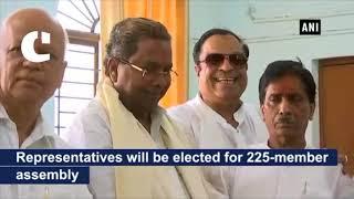 CM Siddaramaiah files his nomination from Badami constituency