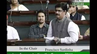 Part 1: Specific Parameters for Conducting the Census, 2011: Sh. Gopinathrao Munde: 06.05.2010