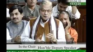 Part 1: Ministry of Exernal Affairs for 2010-11: Sh. Murli Manohar Joshi: 20.04.2010