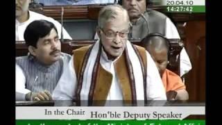 Part 2: Ministry of Exernal Affairs for 2010-11: Sh. Murli Manohar Joshi: 20.04.2010