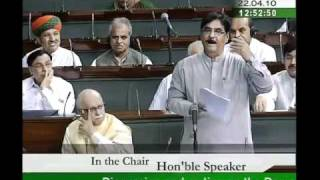 Part 2: Rural Development for 2010-11: Sh. Gopinathrao Munde: 22.04.2010