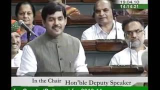 Part 1: Demands for Grants (Railways) for 2010-11: Sh. Syed Shahnawaz Hussain: 19.04.2010