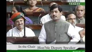 Part 3: Demands for Grants (Railways) for 2010-11: Sh. Syed Shahnawaz Hussain: 19.04.2010