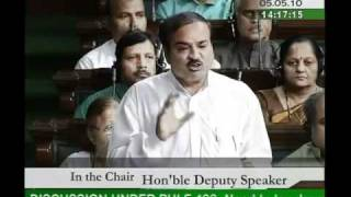 Part 1: Specific Parameters for Conducting the Census, 2011: Sh. Ananth Kumar: 05.05.2010