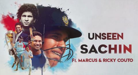 Unseen Sachin Tendulkar, ft. Ricky and Marcus Couto