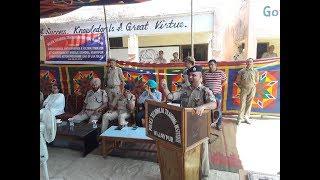Principal PTTI Vijaypur installs water cooler, purifier under CAP