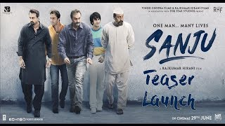 Sanju | Official Teaser Launch | Ranbir Kapoor | Rajkumar Hirani Part 1