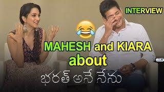 Mahesh Babu Kiara Advani Bharat Ane Nenu Interview | Siva Koratala | Top Telugu TV