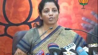 Price Rise & Aarushi Murder Case: Smt. Nirmala Sitharaman: 30.12.2010