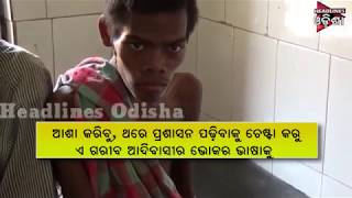 OMG ! A Youth Alive By Eating Forest Fruit & Leaf