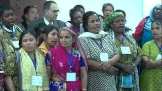 Song Performance by Barefoot Solar Grandmothers (8th March, 2013)