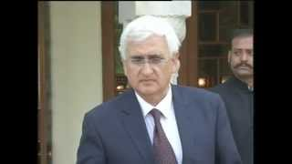 External Affairs Minister's media byte after meeting Prime Minister of Pakistan (March 9, 2013)