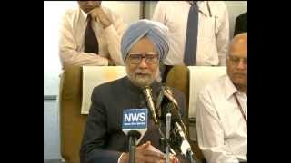 Prime Minister's Onboard Media Interaction on return from BRICS Summit