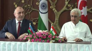 Visit of Minister of Foreign Affairs of the Republic of Azerbaijan- Signing of Agreements