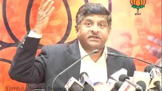 Part 2: CVC  P. J. Thomas & Black Money Issues: Sh.  Ravi Shankar Prasad: 27.01.2011