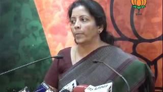 Part 1: CVC Thomas: Smt. Nirmala Sitharaman: 31.01.2011