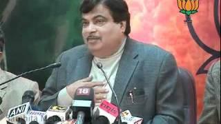 Part 2: PM's Media Interaction: Sh. Nitin Gadkari: 16.02.2011