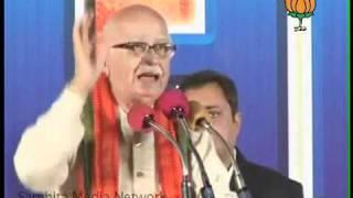 Mahasangram Rally in Hyderabad: Sh. L. K. Advani: 17.02.2011