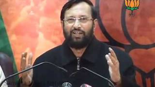 JPC, Black Money, Favour to Baba Ramdev & Congress MP Comment: Sh. Prakash Javadekar: 19.02.2011