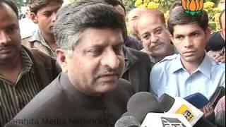 CWG Scam & Rail Budget: Sh. Ravi Shankar Prasad: 26.02.2011