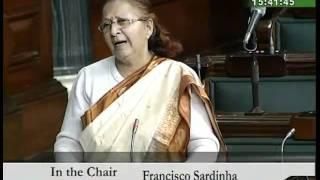Supplementary Demand for Grant (Railways) 2009-10: Smt. Sumitra Mahajan: 15.12.2009
