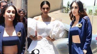 Veerey Di Wedding.Kareena Kapoor Sonam Kapoor Grand Entry At Veerey Di Wedding Trailer Launch Video Id 341f9c987c35c1 Veblr Mobile