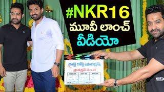 Nandamuri Kalyan Ram New Movie Opening | #NKR16Launch | JR NTR, Niveda Thomas, Shalini Pandey