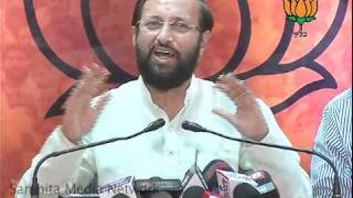 Shungloo Committee Targetting Sheila Dixit: Sh. Prakash Javadekar: 26.03.2011