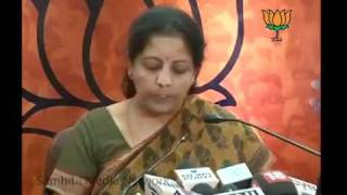 PM for not voting in Assam Polls:  Smt. Nirmala Sitharaman : 14.04.2011