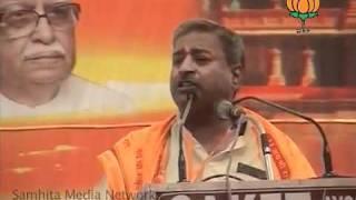 Mahasangram Rally in Faizabad: Sh. Vinay Katiyar: 26.04.2011