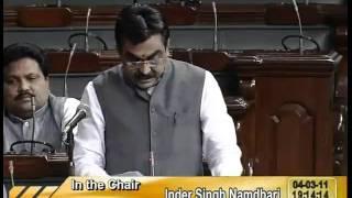 Rail Budget 2011-12 & Supplementary Demands for Grants (Railways): Sh. Rakesh Singh: 04.03.2011