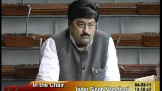 Rail Budget 2011-12 & Supplementary Demands for Grants: Sh. Ravindra Kumar Pandey: 04.03.2011