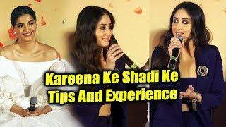 Kareena Kapoor CRAZY Reaction On Sonam Kapoor's Marriage