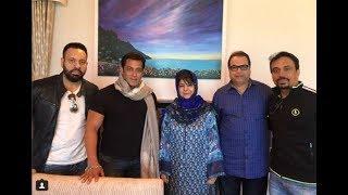कश्मीर पहुंचे सलमान, महबूबा से मिले