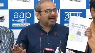 DDA ने निगम को दो जगह ज़मीने दी हैं, अफसोस कि भाजपा ने इसपर भी राजनीति शुरु कर दी है