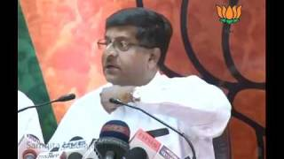 BJP Ruled States Chief Ministers Meeting: Sh. Ravi Shankar Prasad: 10.05.2011