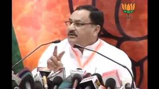 BJP Ruled States Chief Ministers Meeting: Sh. Jagat Prakash Nadda: 10.05.2011