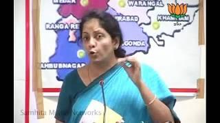 Sri Krishna Committee Report : Smt. Nirmala Sitharaman: 29.05.2011